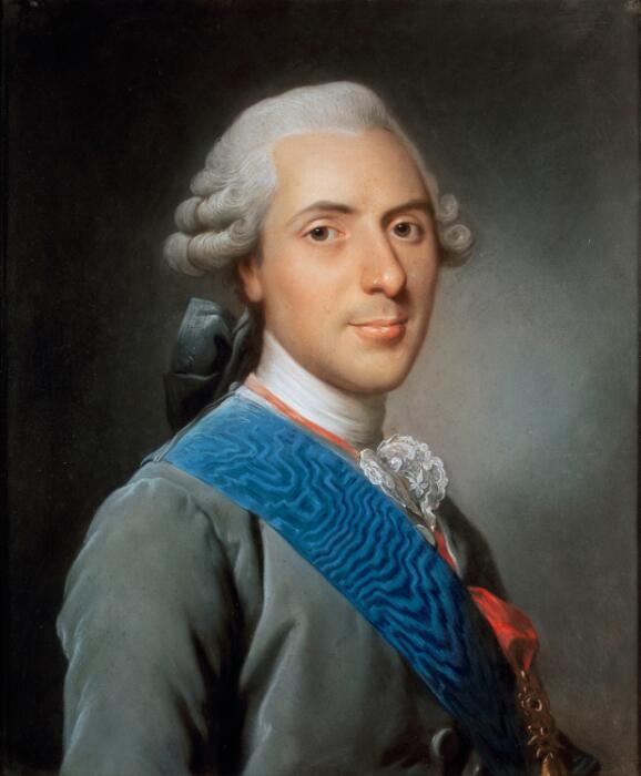 Alexandre Roslin, Louis de France, dauphin