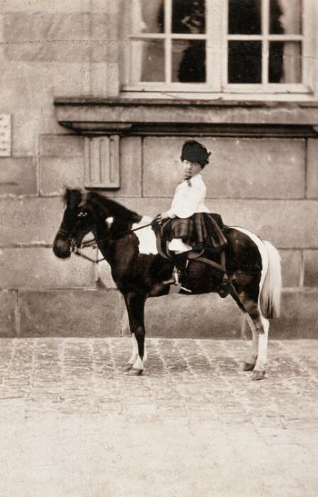 Olivier Pichat, Le Prince impérial montant son poney favori
